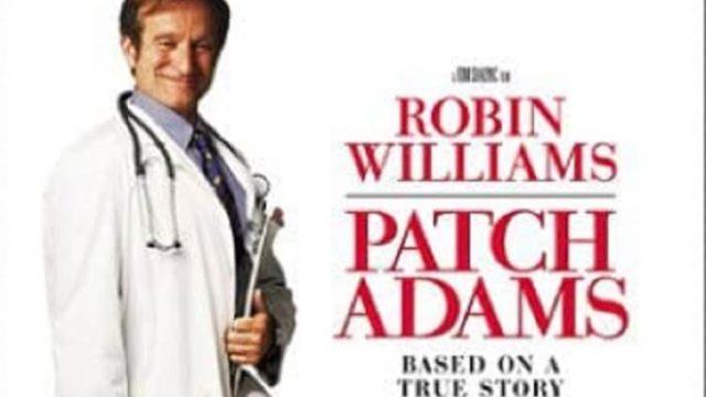 映画「パッチ・アダムス」の主演ロビン・ウィリアムズの画像